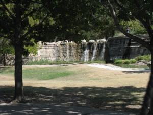 Water Fallas at Pioneer Park